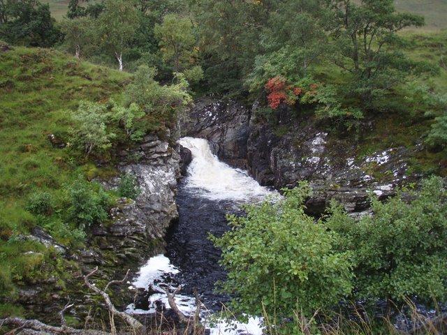 Falls on the Elchaig