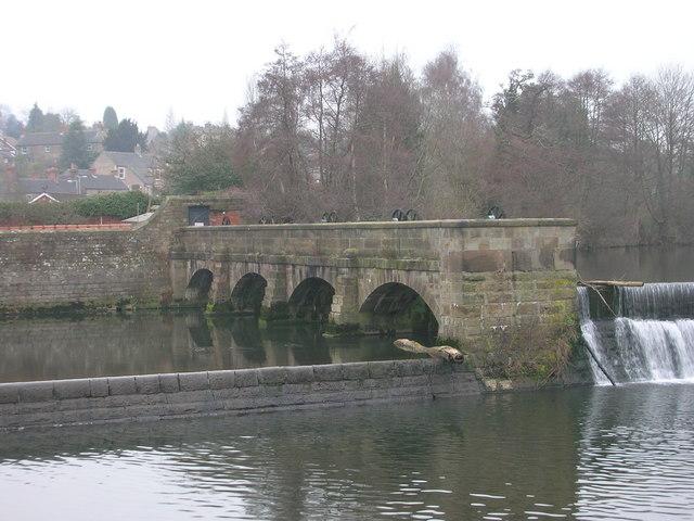 Sluice Gates on River Derwent