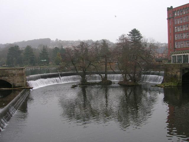 River Derwent Weir