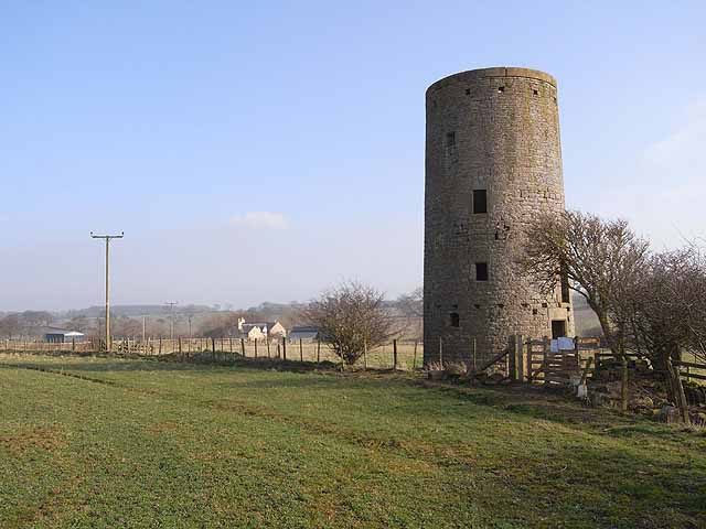 Windmill at Whittington Mill