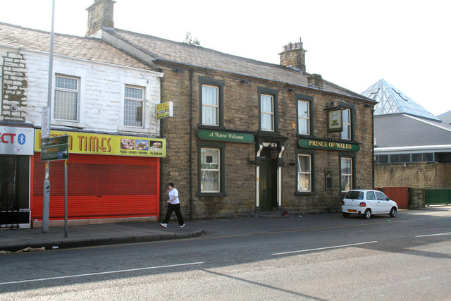 The 'Prince of Wales', Leeds Road, Nelson, Lancashire