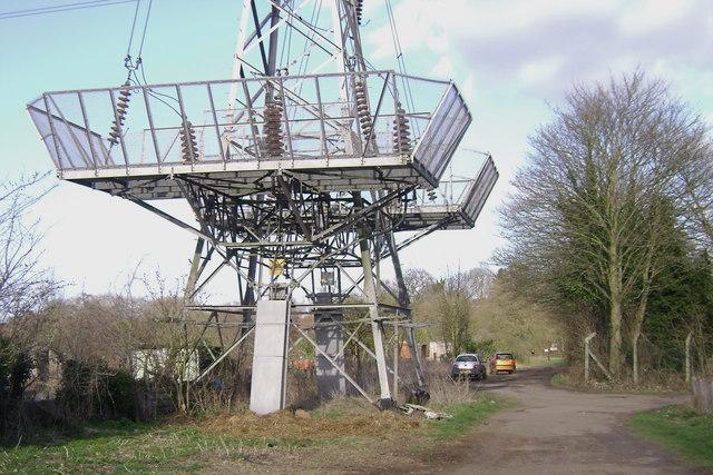 Terminal tower, Potterton's allotments, Warwick