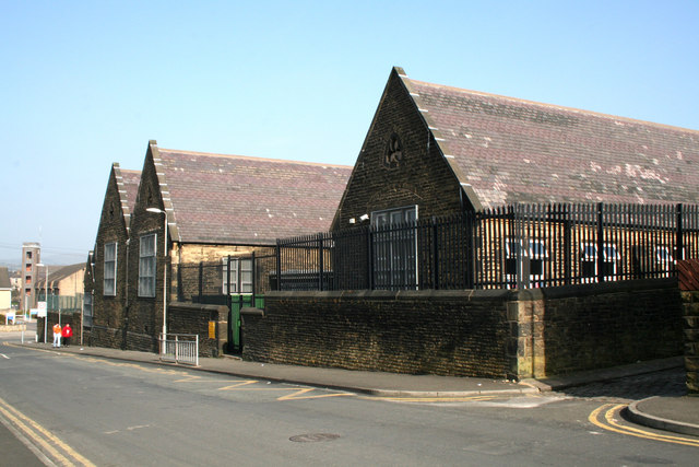 St. Philips C of E Primary School, Nelson, Lancashire