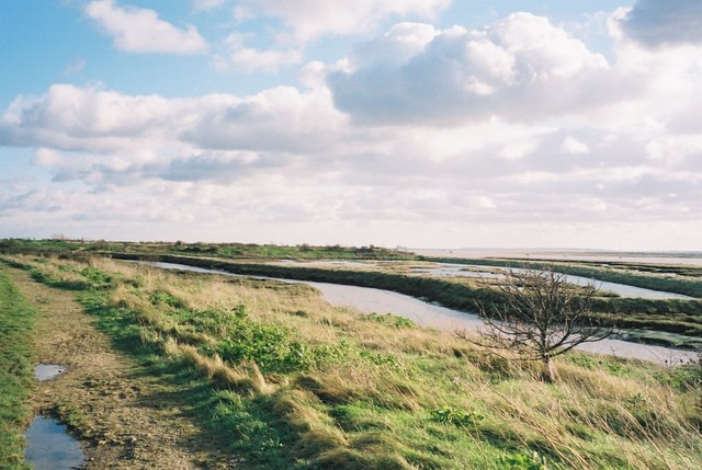 Footpath to Leigh on Sea