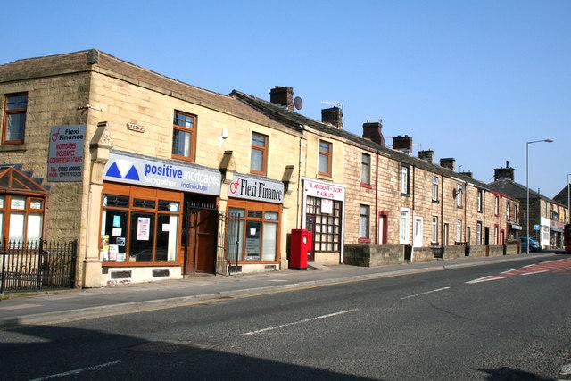 Leeds Road, Nelson, Lancashire