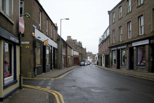 Castle Street, Forfar