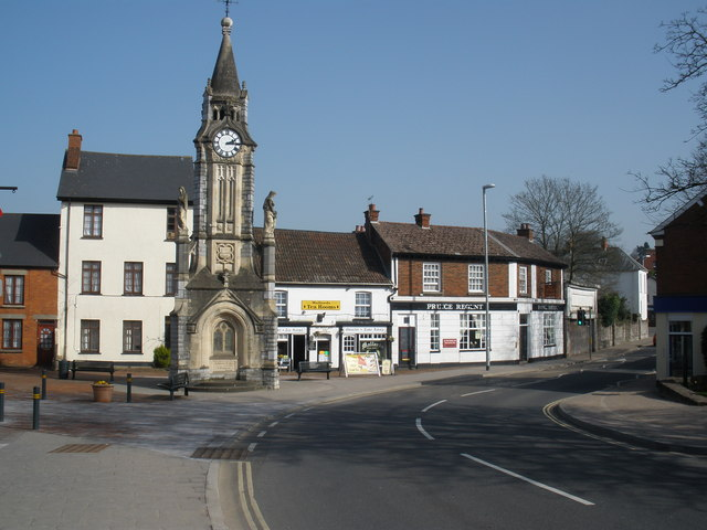 Clock Tower, on Gold Street, Tiverton