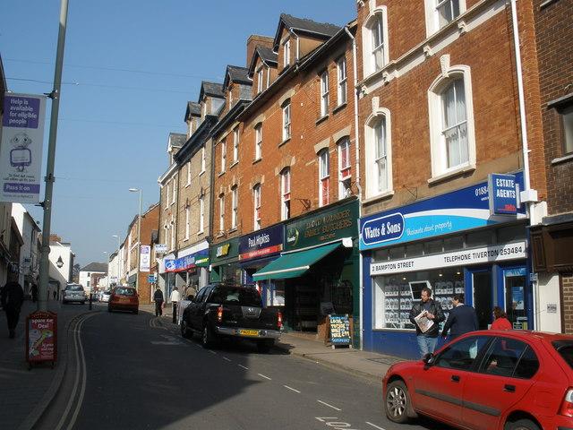Bampton Street, Tiverton