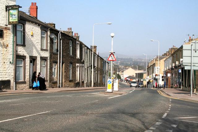 Scotland Road, Nelson, Lancashire