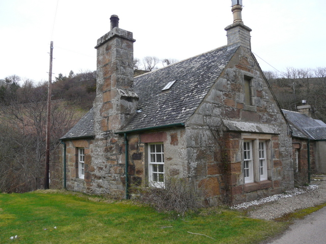 Old cottage, Berriedale