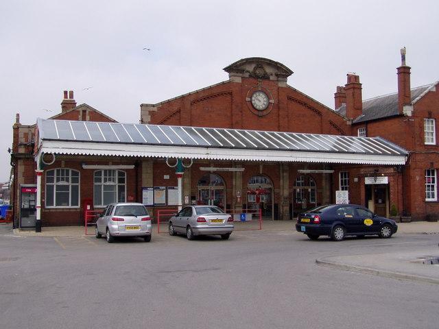 Bridlington Railway Station Exterior