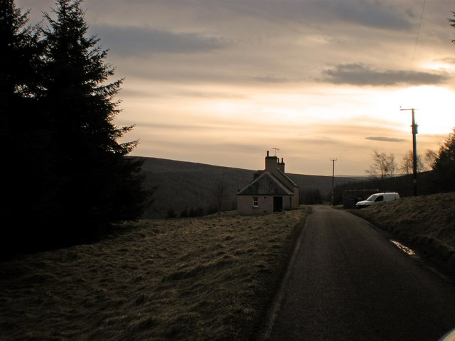 Banchor Cottage in the Gloaming