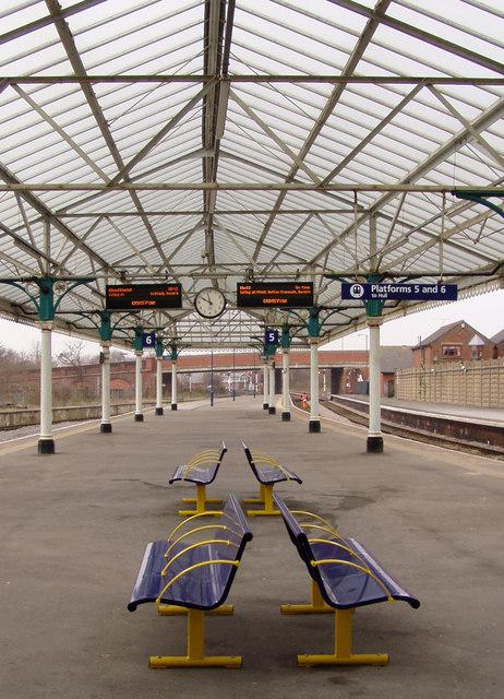 Bridlington Railway Station Platforms