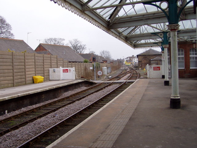 Bridlington Railway Station Platform