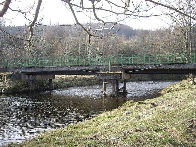 Downstream face of Aswanley Bridge