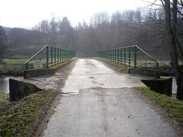 Road bridge over the River Deveron