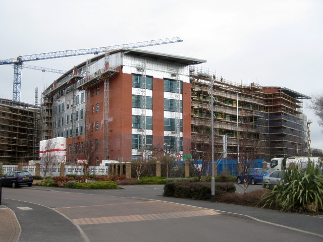 New Pinderfields Hospital