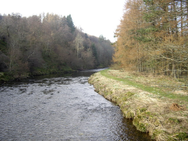 Upstream River Deveron
