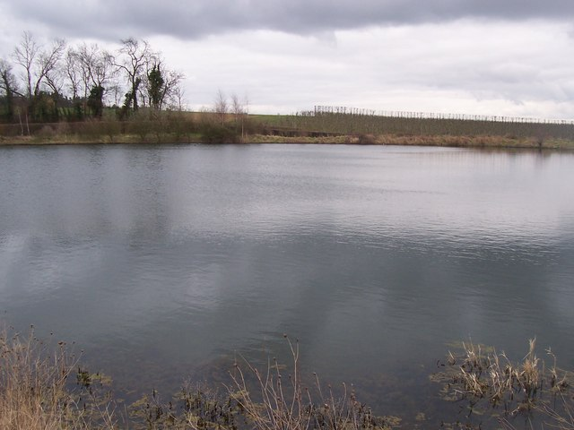 Reservoir in Bonfleur Farm