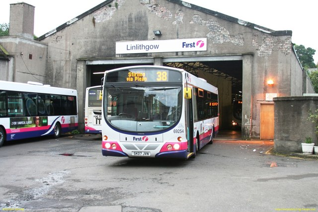 Linlithgow Bus Depot