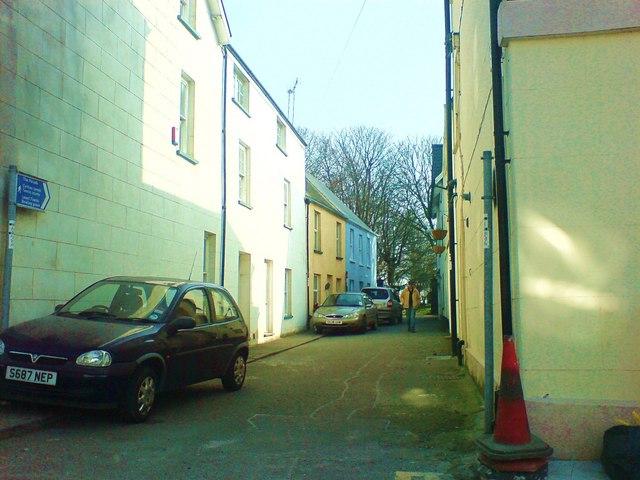 Church Lane. To St Thomas'