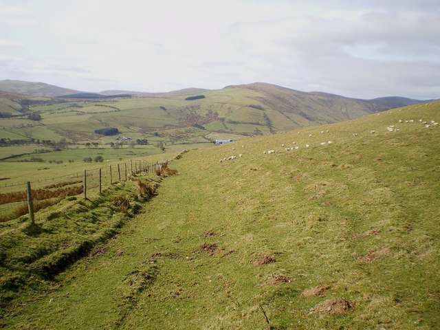 Looking down the old byway