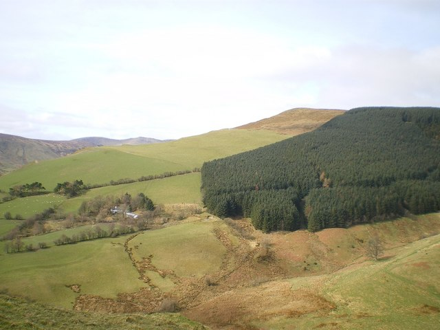 Votty and the southern ridge of Mynydd Tarw