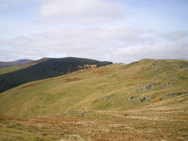 Rhos and Mynydd Tarw