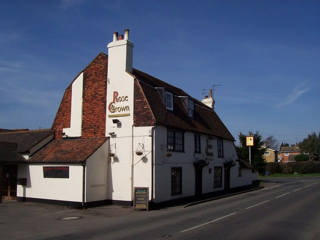 The Rose and Crown Public House, Branbridges