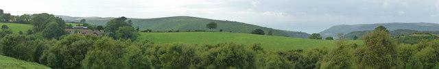 Dunkery Hill : Exmoor Scenery