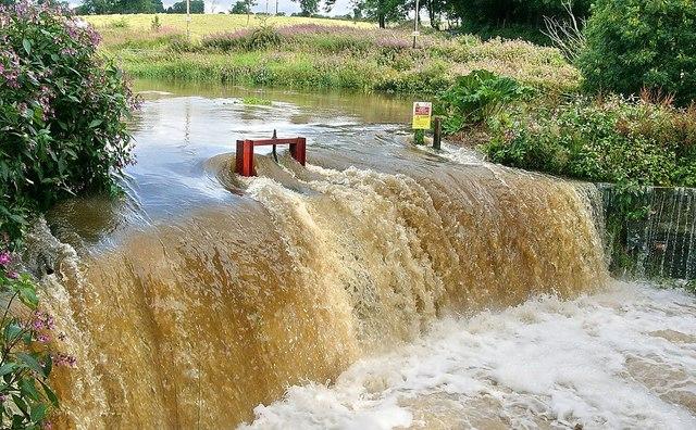 Weir at Burnside of Duntrune