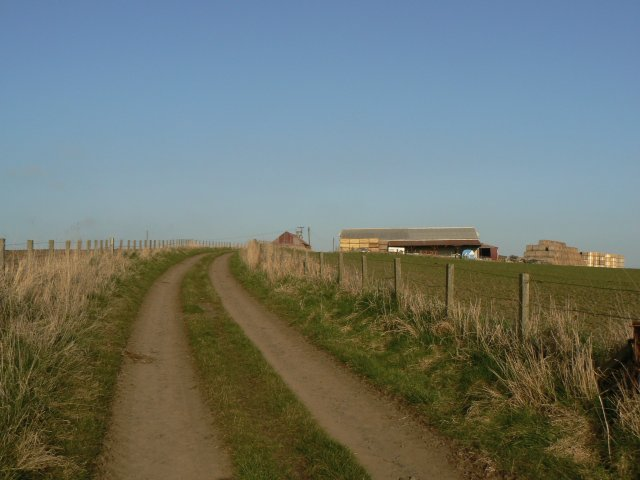 Uphill to the farm