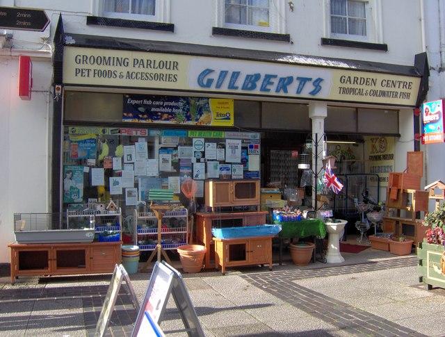Pet and garden shop, St Marychurch precinct