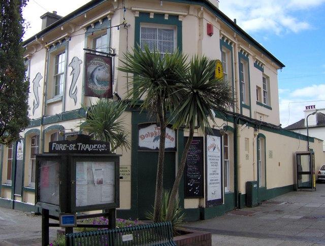 The Dolphin Inn, St Marychurch precinct