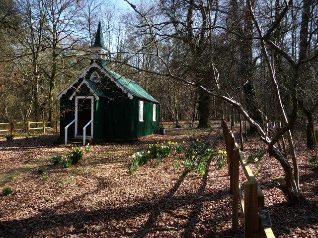 Upper Itchen Benefice Church In The Woods Bramdean