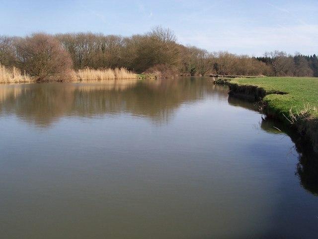 River Medway near Ford Green Bridge