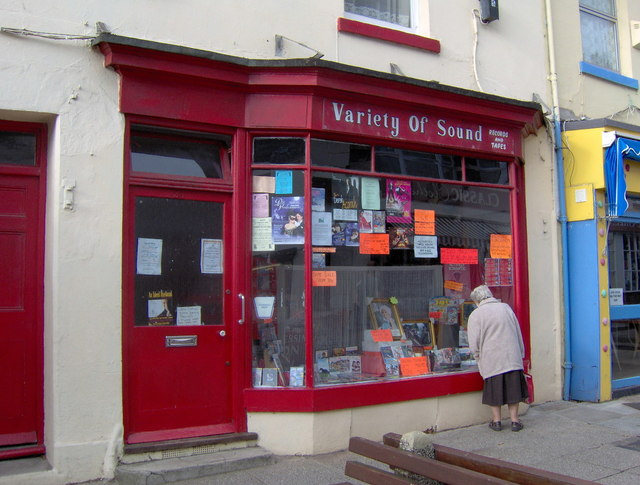 Tape and record shop, St Marychurch precinct
