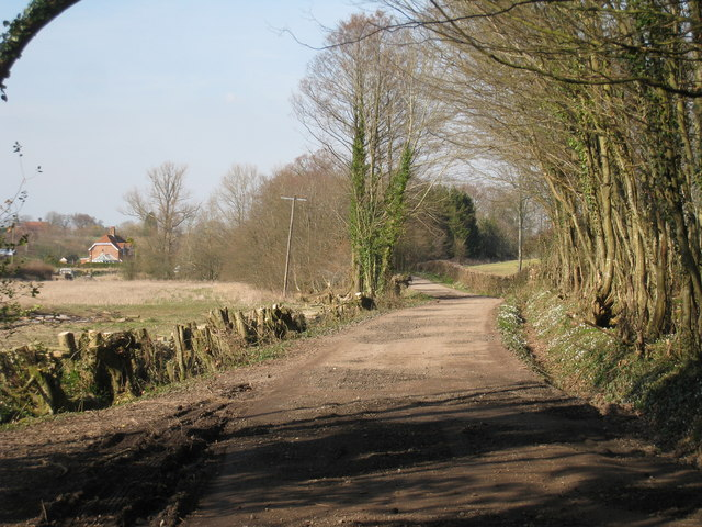 Track to Methersham