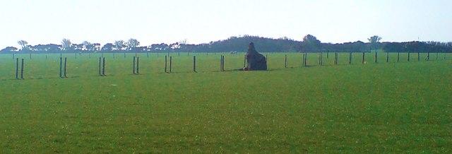 Rhyndaston Fawr Bronze Age monolith