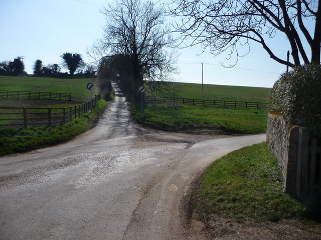 Lane junction, Bighton