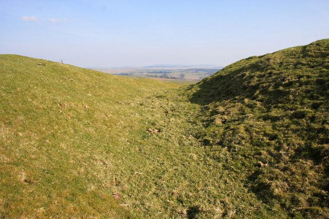 Broomhillbank Hill fort