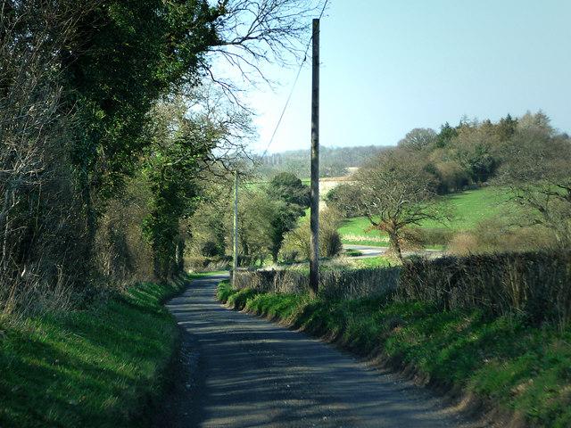 Nettlebeds Lane northern end