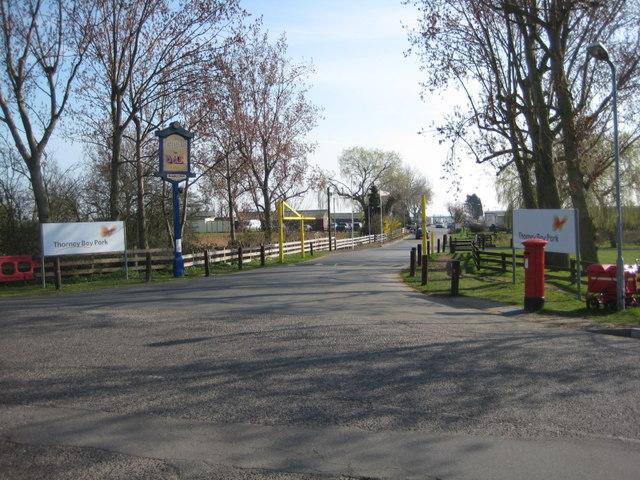 Thorney Bay caravan park