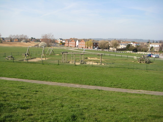 Kiddies play area at Thorney Bay