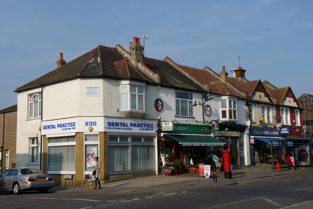 Shops in Brigstock Road