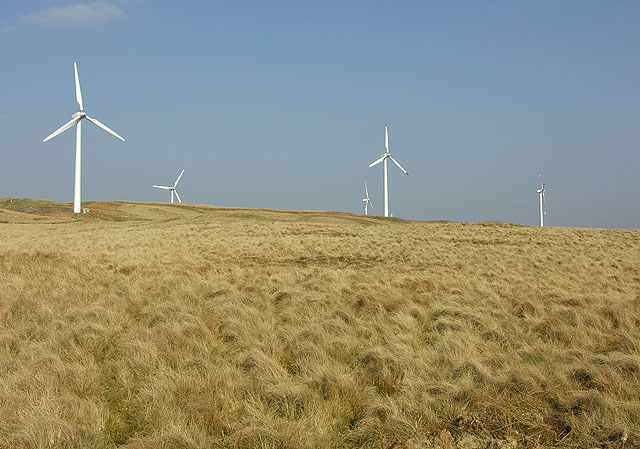 The Rheidol Wind Farm