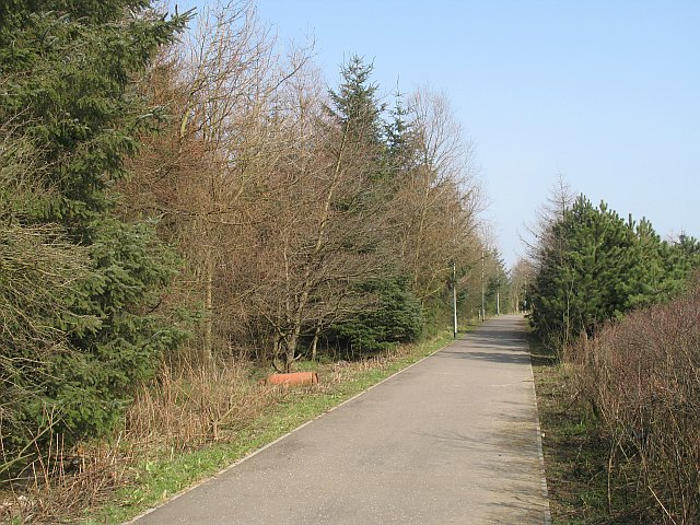 Cycle path, Salsburgh