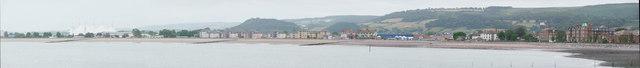 Minehead : Coastal Town Scene
