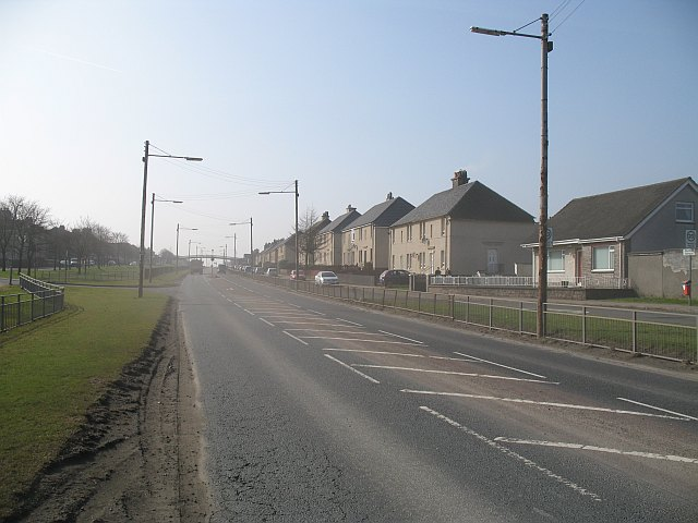 Glasgow and Edinburgh Road, Salsburgh