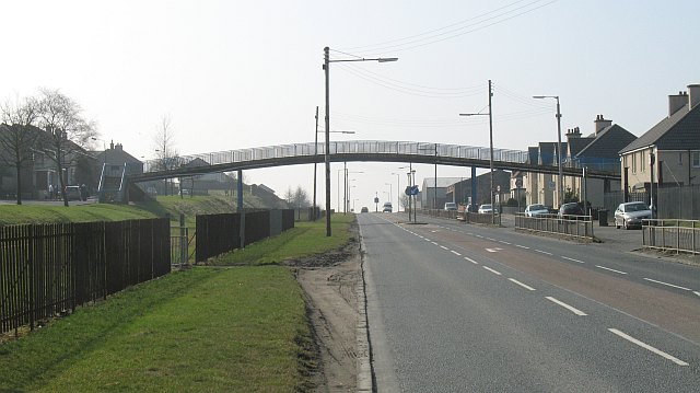Footbridge, Salsburgh